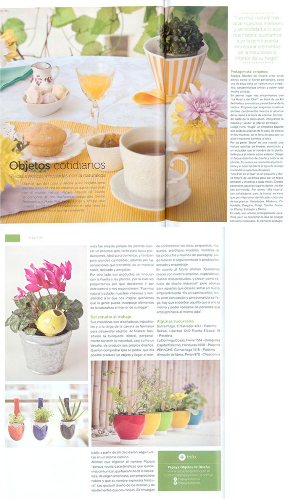 Revista Canning - Objetos cotidianos