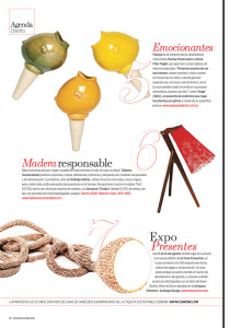 Revista Espacio Living - Agosto Hugo!